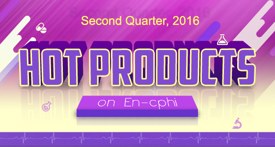 Hot Products on En-cphi in the Second Quarter of 2016