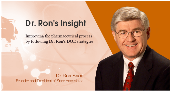 Dr. Ron's Insight: Think Strategically for Design of Experiments Success (2)