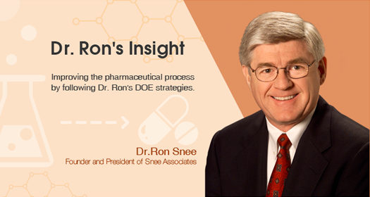 Dr. Ron's Insight: Robust Experimental Strategies for Improving Upstream Productivity (1)