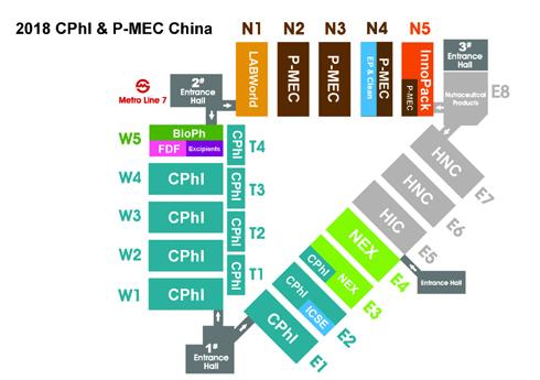展馆平面图P-MEC