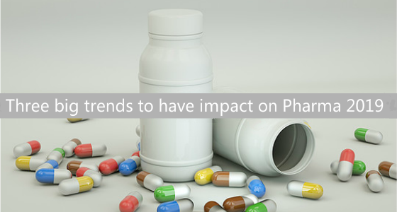 Evolving World of Pharma: Three big trends to have impact on Pharma 2019