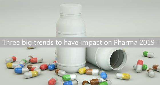 Evolving World of Pharma: Three big trends to have impact on Pharma 2019