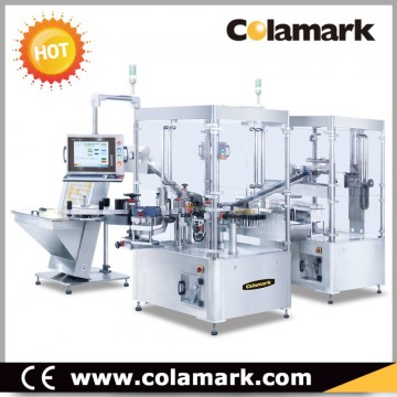 Colamark A33 High Speed Labeling & Plunger-rod Assembly System for Prefilled Syringes