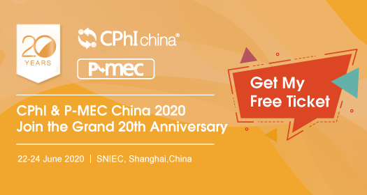 Register as Visitor to CPhI China 2020!