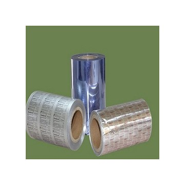 Unprinted PTP aluminum foil for printing&used for pharmaceutical packaging