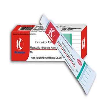 Tramcinolone Acetonide Acetate and Miconazole Nitrate and Neomycin Sulfate Cream