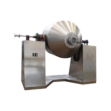 Glass Lined Double Conical Rotary Vacuum Dryer