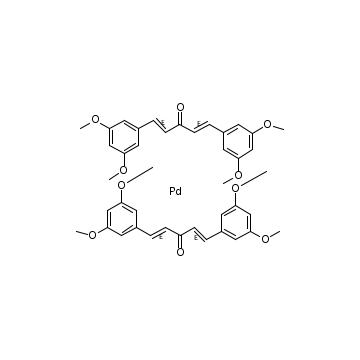 Bis(3,5,3',5'-dimethoxydibenzylideneacetone)palladium