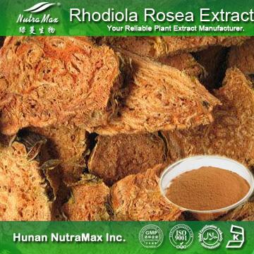 100% Natural Rhodiola Rosea Extract (Salidrosides:1%-10%, Rosavin:2%-10%)
