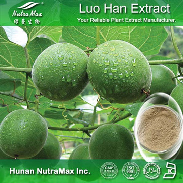 100% Natural Luo Han Guo Extract 80% Mogrosides / 25% Mogroside V