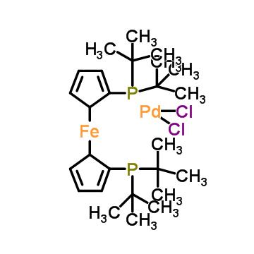 1,1'-Bis(di-tert-butylphosphino)ferrocene palladium dichloride
