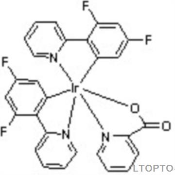 Bis(3,5-difluoro-2-(2-pyridyl)phenyl-(2-carboxypyridyl)iridiuM(III)双(4,6-二氟苯基吡啶-N,C2)吡啶甲酸合铱Firpic