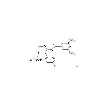 (2R,3S)-2-[(1R)-1-[3,5-Bis(trifluoromethyl)phenyl]ethoxy]-3-(4-fluorophenyl)morpholine 4-methylbenz