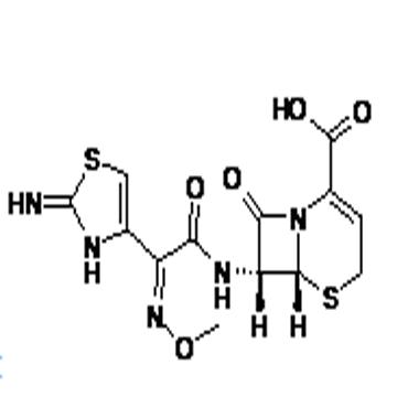 Ceftizoxime sodium sterile