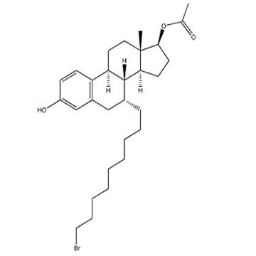 :(7a,17b)-7-(9-Bromononyl)-estra-1,3,5(10)-triene-3,17-diol 17-acetate