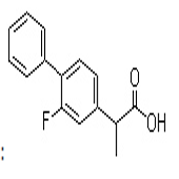 3-Fluoro-4-phenylhydratropic acid