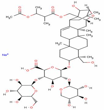 Aescigenin,Aescin Sodium,Aescine Sodium