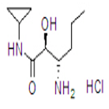 (2s,3s)-3-amino-n-cyclopropyl-2-hydroxyhexanamide hydrochloride