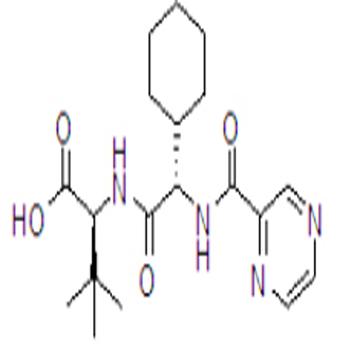 (2S)-2-Cyclohexyl-N-(2-pyrazinylcarbonyl)glycyl-3-methyl-L-valine
