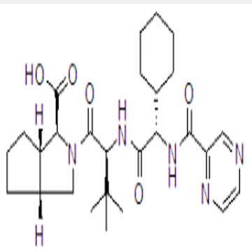 (1S,3aR,6aS)-(2S)-2-Cyclohexyl-N-(2-pyrazinylcarbonyl)glycyl-3-methyl-L-valyloctahydrocyclopenta[c]p