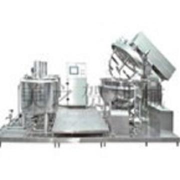 Level type emulsification machine