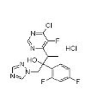 3-(6-Chloro-5-fluoropyrimidin-4-yl)-2-(2,4-difluorophenyl)-1-(1H-1,2,4-triazol-1-yl)butan-2-ol hydro
