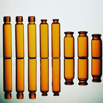 Tubular vial for oral liquid