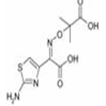 2-[(2-Amino-thiazol-4-yl)-carboxy-methyleneaminooxy]-2-methyl-propionic acid (The intermediate of Az