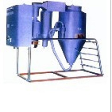 Sterile spray dryer with low energy