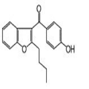2-n-Butyl-3-(4-hydroxybenzoyl)benzo[b]furan