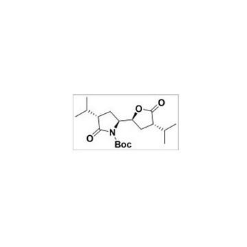 (3S,5S)-tert-butyl 3-isopropyl-5-((2S,4S)-4-isopropyl-5-oxo-tetrahydrofuran-2-yl)-2-oxopyrrolidine-1