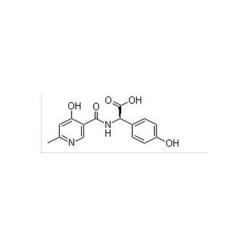 D-a-(6-methyl-4-hydroxy-nicotinicacid mide)-p-hydroxyphenyl acetic