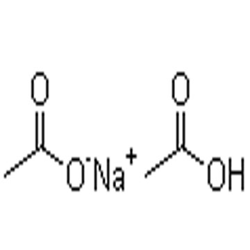 sodium hydrogen di(acetate)