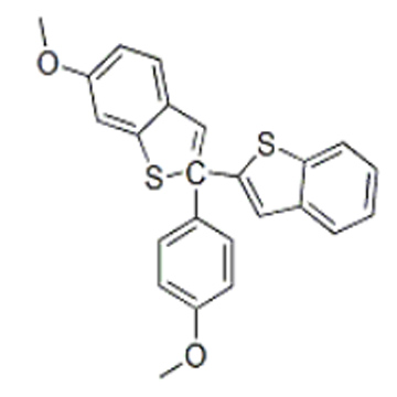 2-(4-Methoxy phenyl)-6-methoxy benzo[b]thiophene