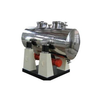 Horizontal vibrating vacuum dryer