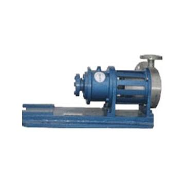 Metal spiral magnetic drive pump