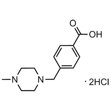 4-[(4-METHYLPIPERAZIN-1-YL)METHYL]BENZOIC ACID DIHYDROCHLORIDE HEMIHYDRATE