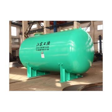 Horizontal Glass Lined Storage Tank