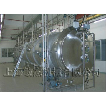 Dairy drying machine