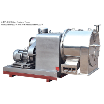 HR type horizontal piston-pusher centrifuge