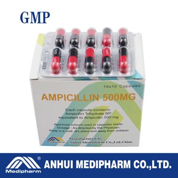 Ampicillin Capsule 500MG