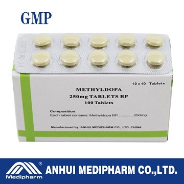 Methyldopa Tablet 250mg, Hypotensor