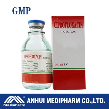 Ciprofloxacin Lactate Injection 200mg/100ml