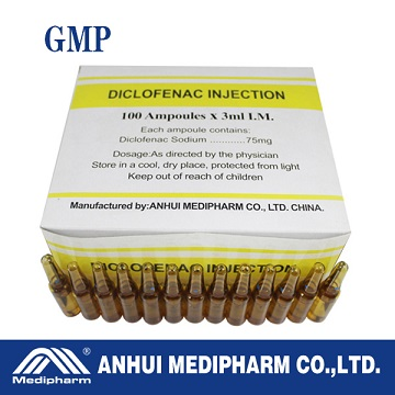 Diclofenac Sodium Injection 75mg/3ml