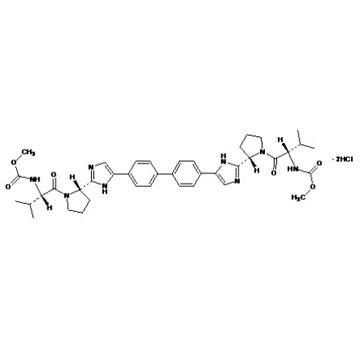 dimethyl (2S,2'S)-1,1'-((2S,2'S)-2,2'-(4,4'-(biphenyl-4,4'-diyl)bis(1H-imidazole-4,2-diyl))bis(pyrro