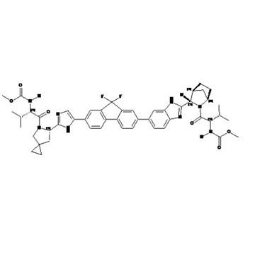 Methyl [(2S)-1-{(6S)-6-[5-(9,9-Difluoro-7-{2-[(1R,3S,4S)-2-{(2S)-2[(methoxycarbonyl)amino] -3-methyl