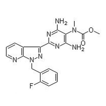 [4,6-Diamino-2-[1-(2-fluorobenzyl)-1H-pyrazolo[3,4-b]pyridin-3-yl]pyrimidin-5-yl]methylcarbamic acid