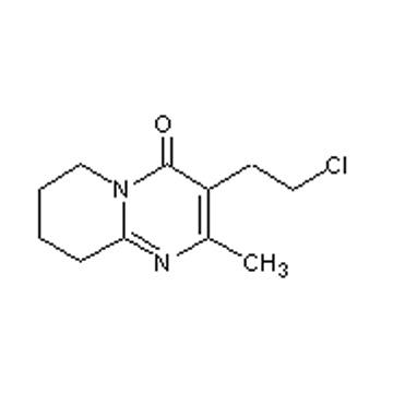 3-(2-Chloroethyl)-2-methyl-6,7,8,9-tetrahydro-4H-pyrido[1,2-a]-pyrimidin-4-one