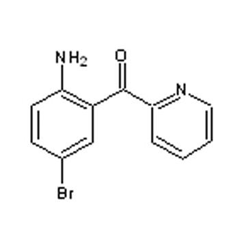 2-amino-5-bromobenzoylpyridine