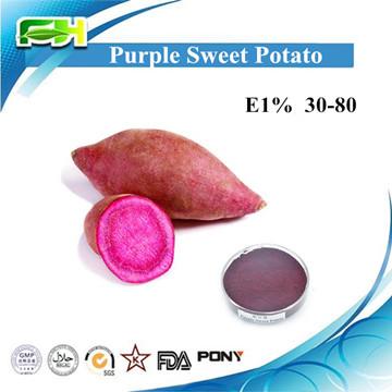 Natural Pigment Purple Sweet Potato: E1% 30-80